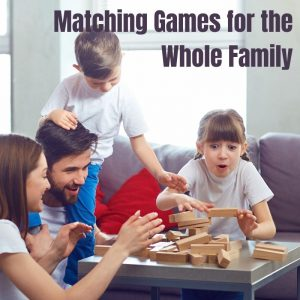 good matching games for kids and family